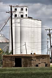 Calaboose and Grain Elevators