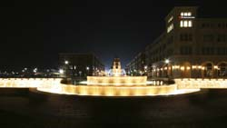 Simpson Fountain Night