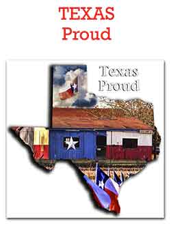 Texas Proud Flags