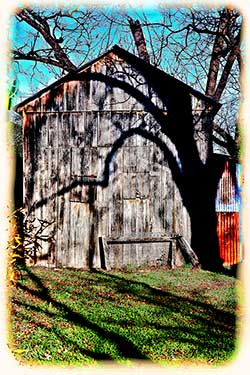 Barn Shadow