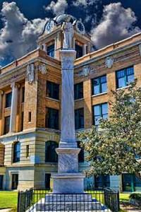 Gainesville CSA Monument